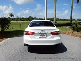 toyota camry trunk 2018 new toyota camry le automatic at royal palm toyota serving