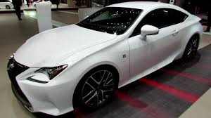 lexus cars 2014 2015 lexus rc 350 f exterior and interior walkaround 2014