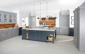 Kitchen Island Manufacturers Burbidge U0027s Langton Kitchen Painted In Gravel And Seal Grey