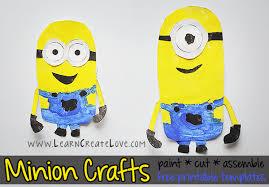printable minion crafts