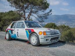 rm sotheby u0027s 1984 peugeot 205 turbo 16 evolution 1 group b