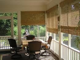 Concept Ideas For Sun Porch Designs Outdoor Shades For Screened Porch Exterior Patio Blinds And Modern