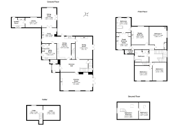 the burrow floor plan the old vicarage tunstall carnforth lancashire 5 bed detached