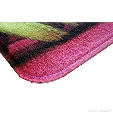 tapis de cuisine violet mat 4060 café latte tapis de cuisine fibre polyamide pvc beige 60