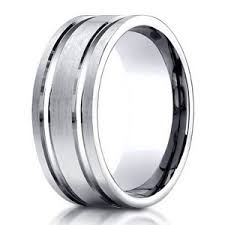 mens palladium wedding band designer men s palladium wedding band 8mm just men s rings