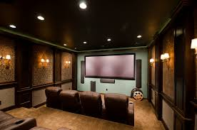 home theater entertainment room design ideas interior amazing