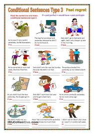 Participle Worksheet Conditional Sentences Type 3 Conditional Sentences Pinterest