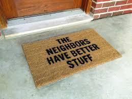 Funny Area Rugs Ideas Unusual Door Mats Funny Doormats Retro Door Mats