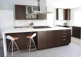 Kitchen Islands With Bar Stools Appliances Chrome Extractor Hood White Laminate Countertops