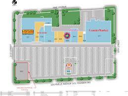 Northpark Mall Dallas Map by Monroe La Danville Plaza Shopping Center Retail Space For Lease