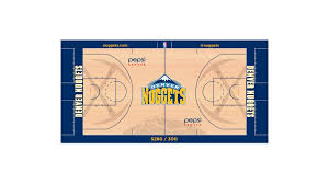 nuggets to tout denver u0027s sunshiny days with new court design