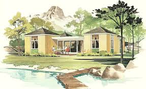Vacation Home Plans Waterfront Vintage House Plans 1960s Vacation Homes Antique Alter Ego