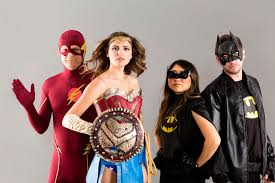 the ultimate group halloween costume showdown dc vs marvel