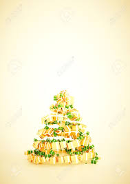 3d xmas gift christmas tree spiral shape concept a4 vertical