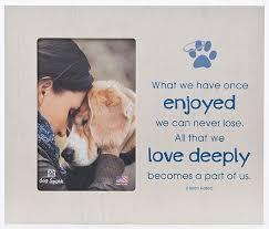 pet memorial pet memorial keepsake frame engraving option