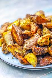 the easiest crispy herbed potato wedges thanksgiving side dish