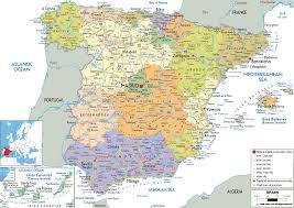 Spain World Map by Spain Map Cities World Countries Map Of World Map Tube And