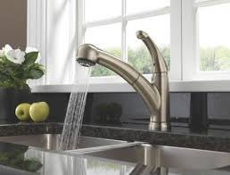 pull out kitchen faucet reviews touchless kitchen faucet reviews delta palo single handle pull