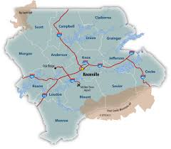Pigeon Forge Tennessee Map by Major Routes Scedc