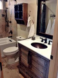 cabin bathroom designs small modern rustic cabin bathroom remodel with grey barnwood