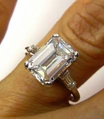 emerald cut engagement rings 2 carat best 25 emerald cut ideas on rings