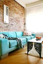 Armchair Blue Design Ideas Brilliant Living Room Decor With Blue Fabric Sofa Design Plus