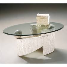 stone and glass coffee table stone and glass cocktail table coho