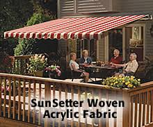 Back Porch Awning Sunsetter Patio Cover Canopies And Porch Covers