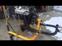chevy test on engine stand youtube chevy engine problems and