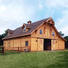 Barns Garages Barn Pros Post Frame Barn Kit Buildings