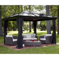Patio Gazebo Ideas Outdoor Patio Ideas With Gazebo Canopy Plus Curtain And Patio