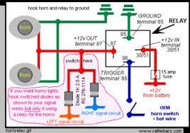 wiring schematic aftermarket horn