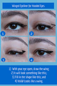 liquid eyeliner tutorial asian graphic winged eyeliner for hooded eyes project swatch