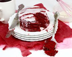 video easy red velvet pancakes with cream cheese glaze lindsay