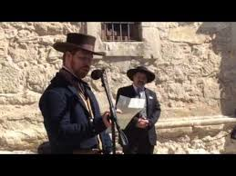 victory or death letter read at the alamo youtube