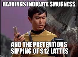 Meme Generator Star Trek - gaydar sulu star trek meme generator imgflip