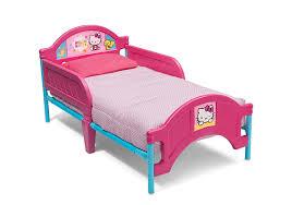 toddler beds for girls amazon com delta children plastictoddler bed hello kitty baby