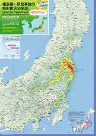 Map Of Okinawa Radioactive Contamination U2013 Deposition Or U0027fallout U0027 Maps