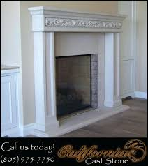 great cast stone fireplace suzannawinter com