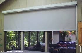 Solar Powered Window Blinds Large Heavy Duty Outdoor Solar Shades North Solar Screen