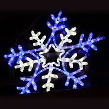 large snowflake outdoor rope light 13 terrific snowflake lights