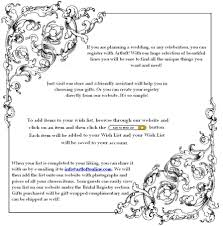 bridal register artloft bridal registry