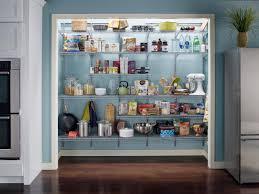 Metal Kitchen Storage Cabinets Witching Built In Kitchen Storage Pantry With Brown Wooden Door