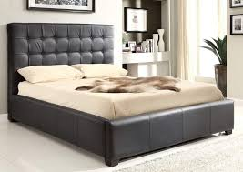 bedroom gorgeous classy bedroom decoration using black leather