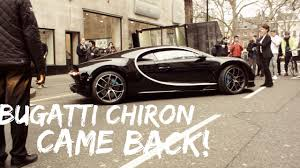bugatti chiron dealership bugatti chiron causes road rage in london youtube