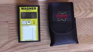 measuring wood floor moisture content with the wagner mmc 220