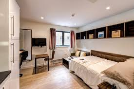 Bed And Living Student Accommodation In Exeter The Printworks Host