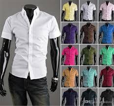 candy color dress shirt new summer men u0027s shirts korean casual slim