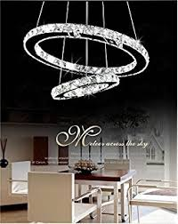Les Yobo Lighting Contemporary Crystals Chandelier Island Ceiling