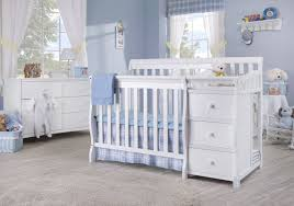 mini crib and changing table fascinating autumn in crib u changer combo davinci baby of white